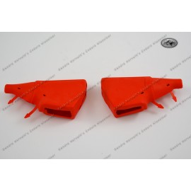 Rubber Dust Covers Red