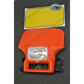 Headlight flashred fits Honda XR 350/500/600 Models, with light, not E-prooved