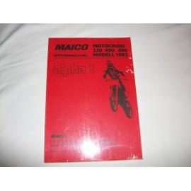 Reparaturanleitung Maico 250/400/490 1982