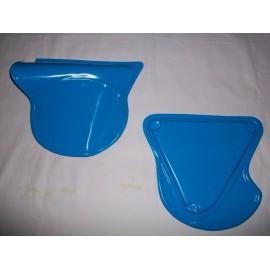 Seitendeckelsatz blau KTM 1972-75