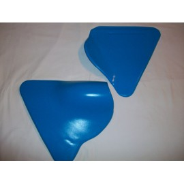 André Horvath's - enduroklassiker.at - SACHS/HERCULES Classic Enduro Parts - Side Panel Kit Blue