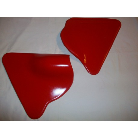 André Horvath's - enduroklassiker.at - SACHS/HERCULES Classic Enduro Parts - Side Panel Kit Red