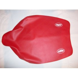 Seat Cover Red KTM Models 1989