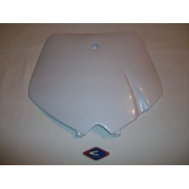 SX Front Number Plate White