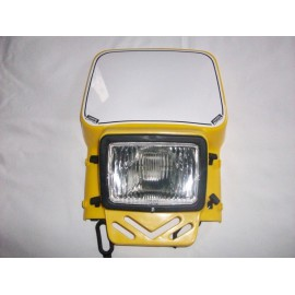 Cemoto universal Enduro headlight yellow