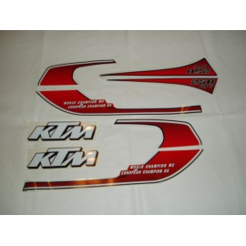 André Horvath's - enduroklassiker.at - Decals/Stickers/Accessoirs - decal kit