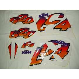 Sticker Kit KTM 620 LC4