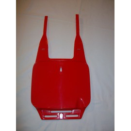 Acerbis MX Front Number Plate Red
