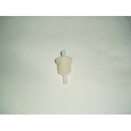gas filter round plastic 6mm