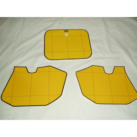 André Horvath's - enduroklassiker.at - Decals/Stickers/Accessoirs - Number Plate decal kit yellow