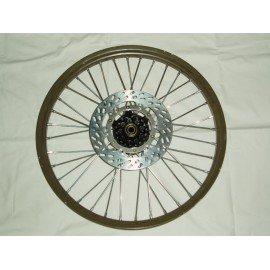 Front Wheel complete without brake disc