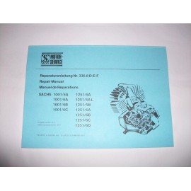 Sachs Repair Manual 100/125 type 1001 5- and 6-speed