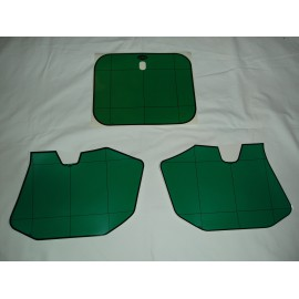 Number Plate Decal Kit green
