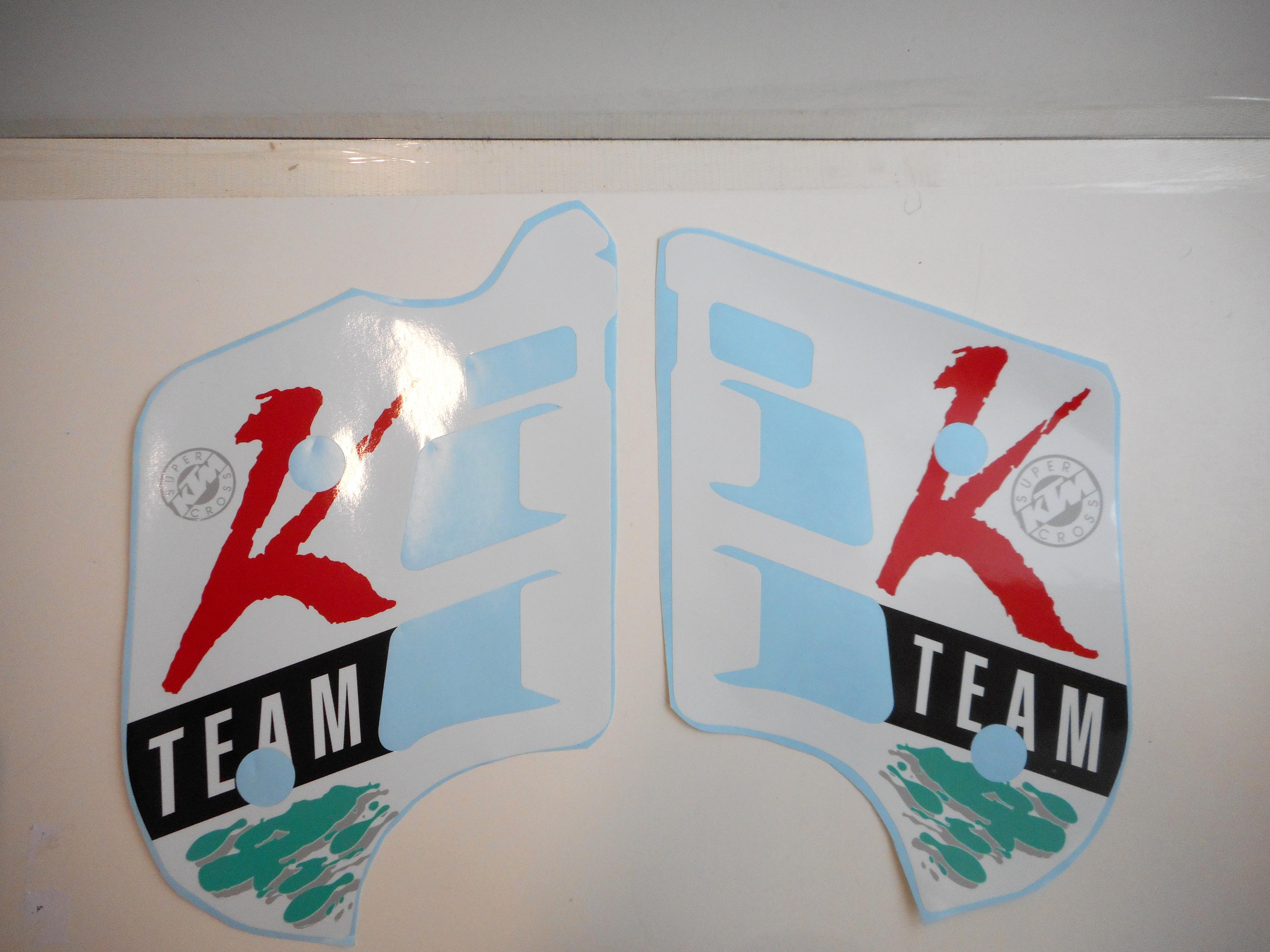 Sticker Kit K Team 1992