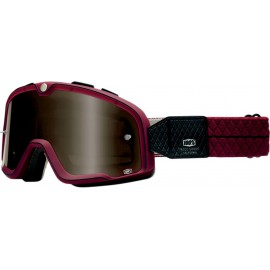 André Horvath's - enduroklassiker.at - Vintage Motocross Clothing - Vintage MX Goggle 100% Barstow Burgundy/Bronze