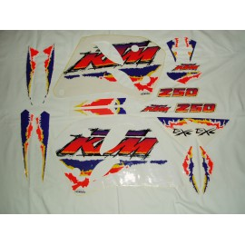 Sticker Kit KTM 250 EXC 1993-1995