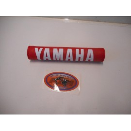 handlebar pad Yamaha red