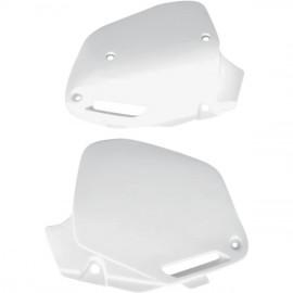 Side Panel Kit white Honda CR 125/250/500