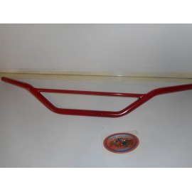 Handlebar high Steel red