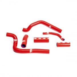 Kühlerschlauchsatz Rot Samco Honda CR 500 89-01