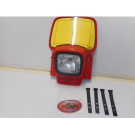 Acerbis Elba Headlight Red