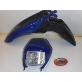 Plastiksatz KTM 640 blau 99-04