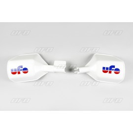 Handguards White UFO for Models with Front brake disc