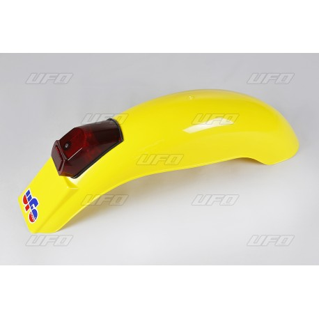 André Horvath's - enduroklassiker.at - Plastics and Bodywork - rear small GS fender UFO vintage 1975-79 light yellow