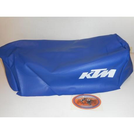 Seat Cover blue KTM 250/420/495 MX/GS model 1984
