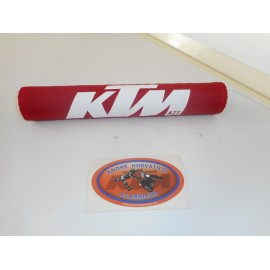 Handlebar Pad KTM Red with white letters