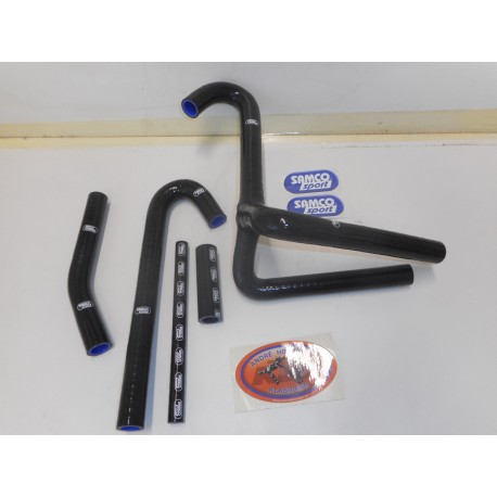 Radiator Hose Kit Samco Black Honda CR 500 89-01
