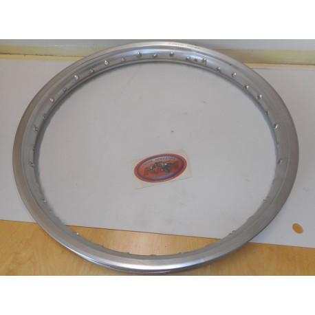 Morad Front Rim 1.60x21 Polished Aluminium 36-hole