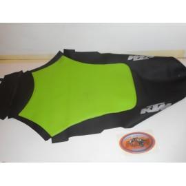 Seat Cover KTM Duke II 1999 Lime Green/Black