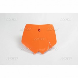 Front Number Plate orange KTM SX 1998-02