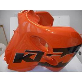 KTM SXS Gas Tank 7,5 Liter 400/520 SX/EXC 2001-2002 orange
