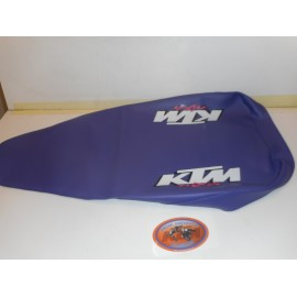 Seat Cover Purple MXM KTM LC4 seat wide and KTM 500 SX 1993