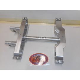 Fork Triple clamp 43mm billet aluminium Maico 1981-1987 for Showa Fork