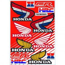 Tecnosel Vintage Honda Sticker Kit