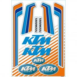 Tecnosel Vintage KTM Sticker Kit