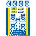 Tecnosel Vintage Husqvarna Sticker Kit