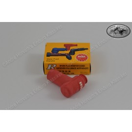 Spark Plug Cover NGK red