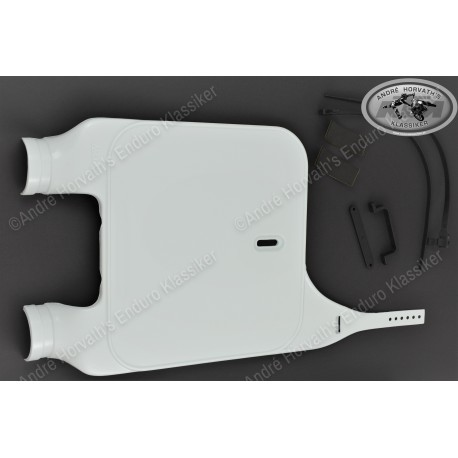 Acerbis MX Front Number Plate white