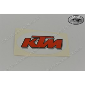 KTM sticker white red 1991 models