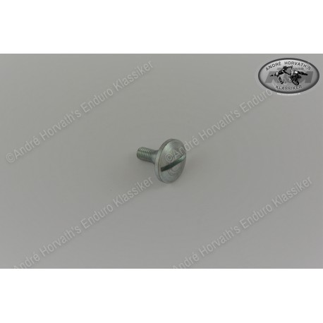 Oval Head Screw M6x17 for seat mounting on the gas tank