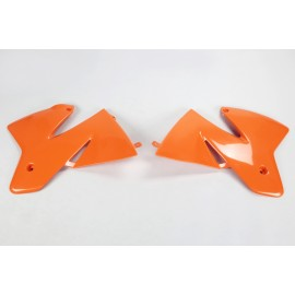 Radiator Spoiler Kit KTM SX/EXC Models orange 1998-2001