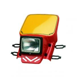 Cemoto universal headlight red