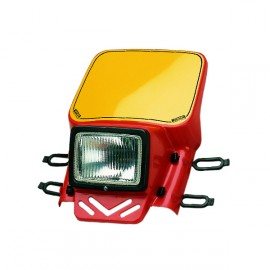 Cemoto universal headlight red
