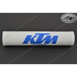 Lenkerrolle Vintage Tecnosel KTM weiss blau