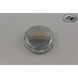 Gas Tank Cap Stainless Steel Polished