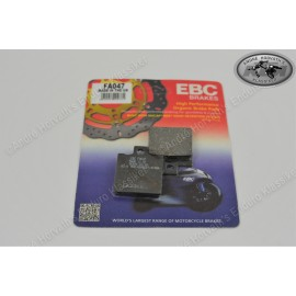Brake Pad Kit organic KTM Models 1982-1986 front or rear